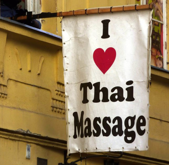 thai massage is a great thing to do