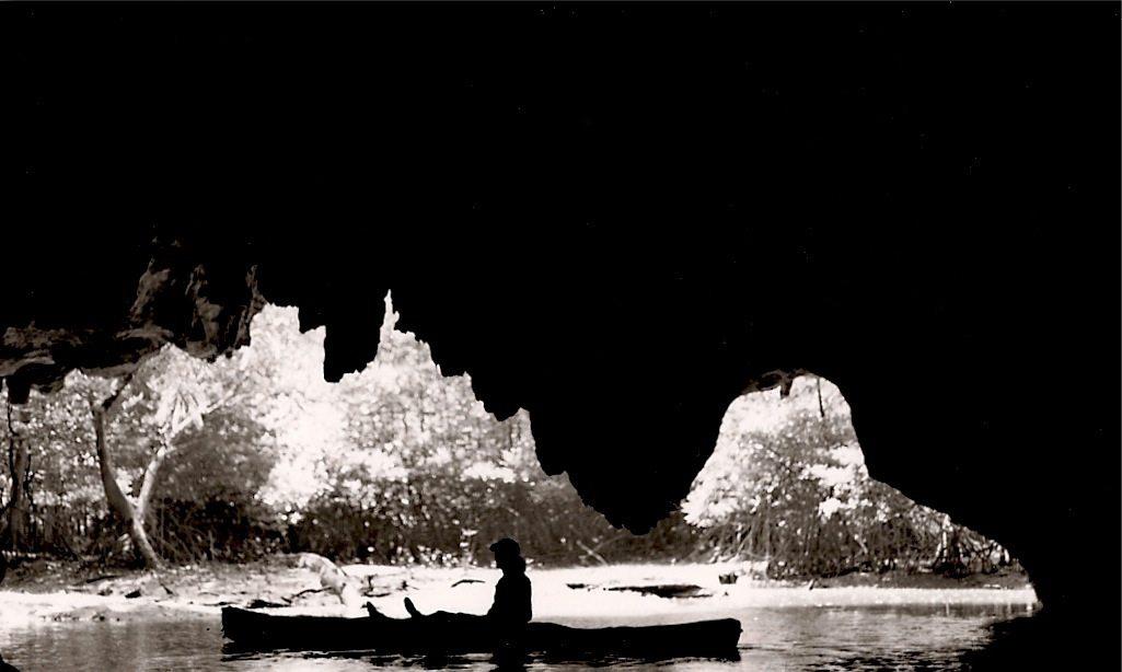 Kayaking into Caves in Krabi Thailand