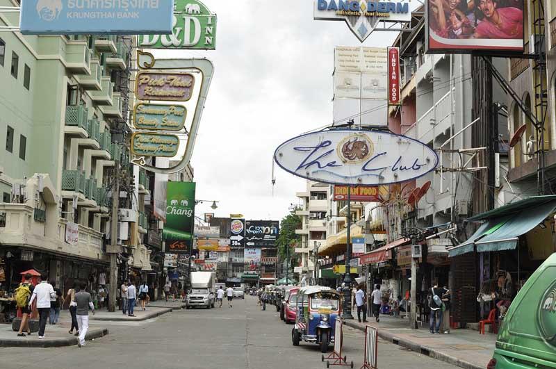 khao san road bangkok itinerary
