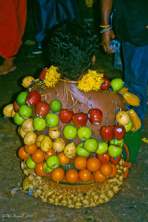 fruit at thaipusam