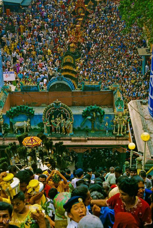 parade thaipusam festival
