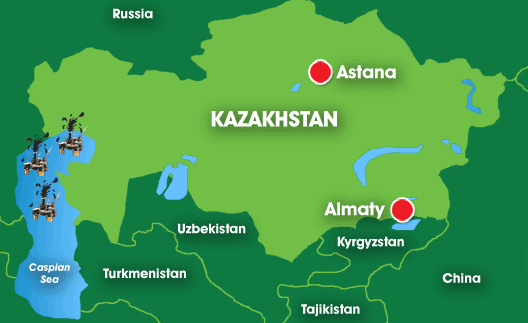 the ambassador of aktobe map