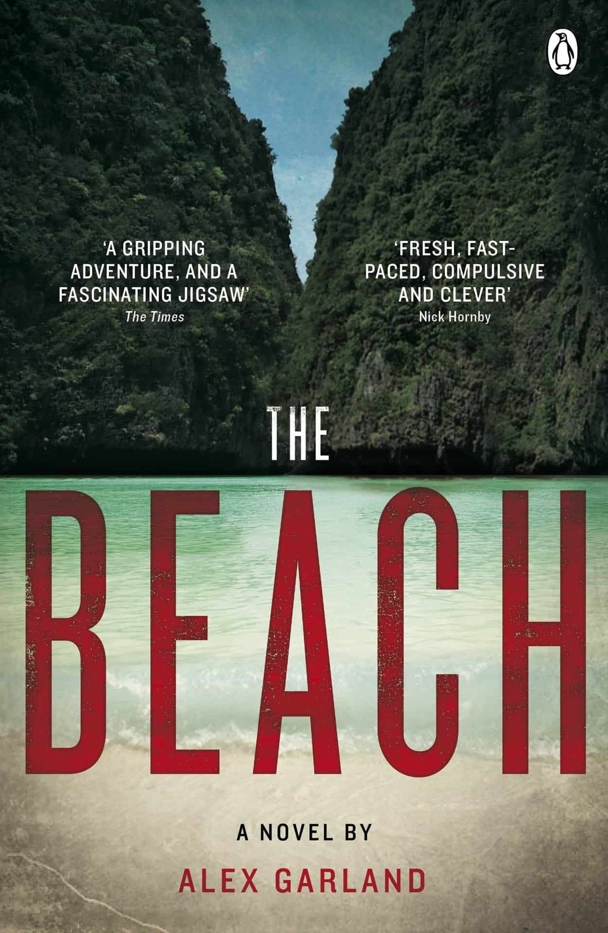 The Beach by Alex Garland is one of the best books for travelling to thailand