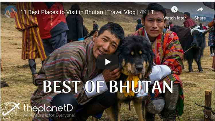 the best of bhutan video