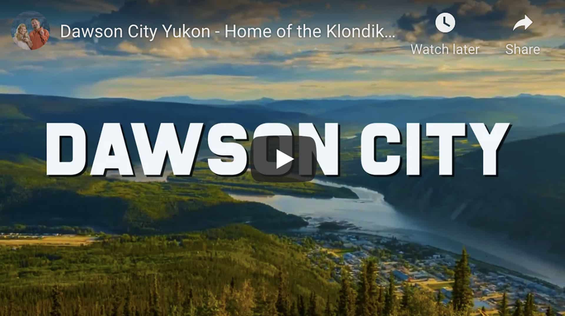 video of the best things to do in Dawson City
