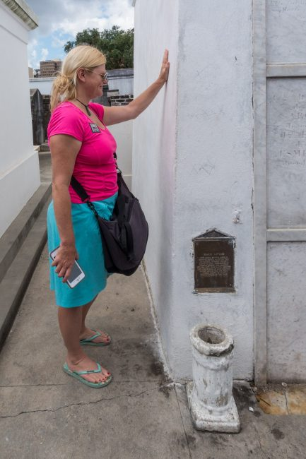 Honouring Marie Laveau's memory in the Big Easy