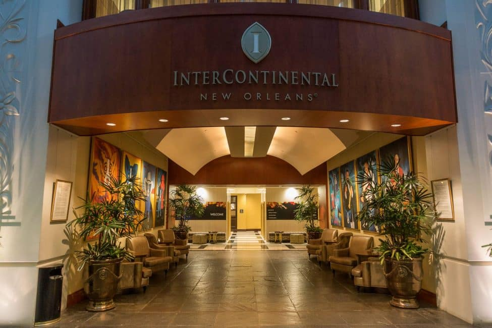 The Intercontinental Hotel in the Big Easy, New Orleans