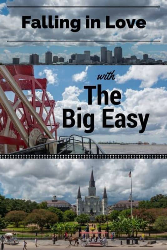 the big easy pin