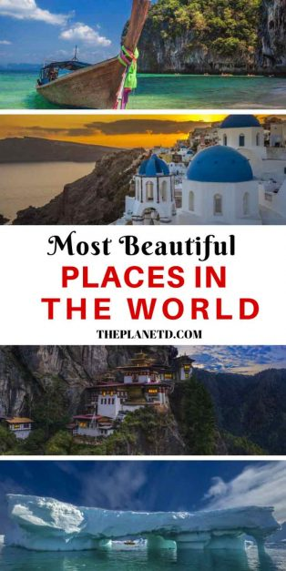 The Most Beautiful Places in the World to Visit