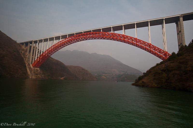 Bridge over Three Gorges