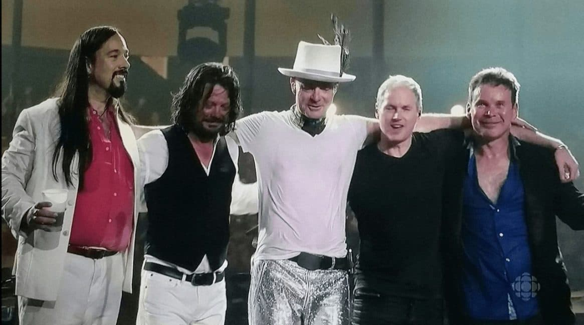 the Tragically Hip from Kingston, Ontario