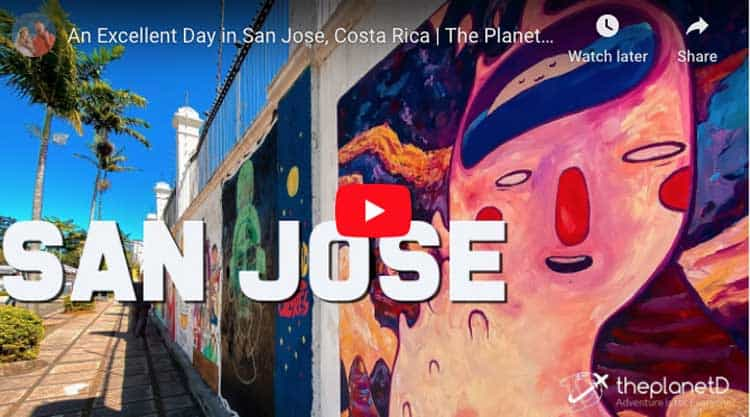 things to do in san jose costa rica | video