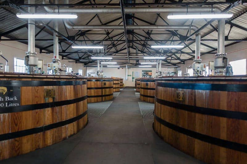 Whisky Tour Glen Ord Barrels