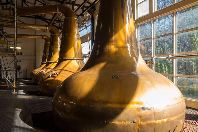 The Glen Ord Distillery Tour was one of the best we have taken