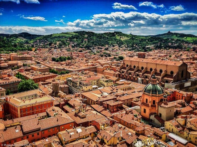 things to do in bologna view from tower