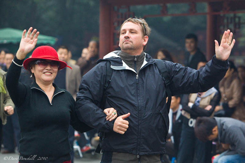 dave has fun - things to do in china