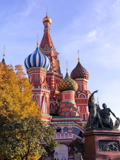 moscow tourist attractions | St. Basil's Cathedral