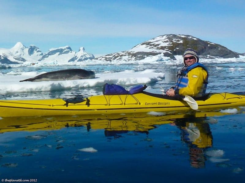 things to do in Antartica kayaking