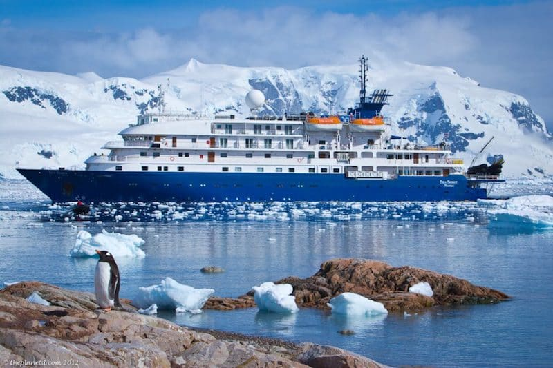things to do in Antartica sea spirit