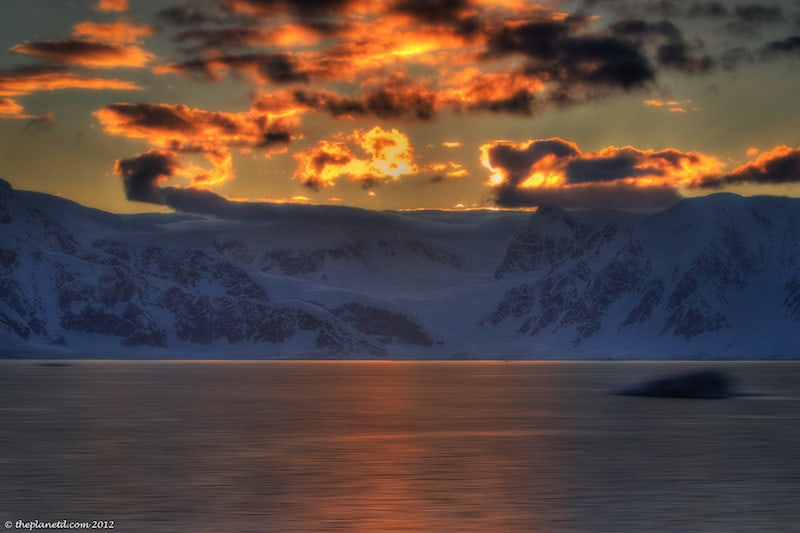 things to do in Antartica sunset