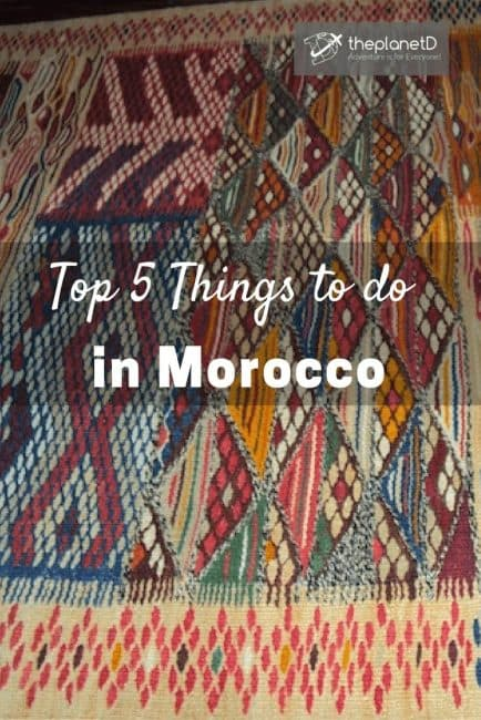 Things to see in Morocco