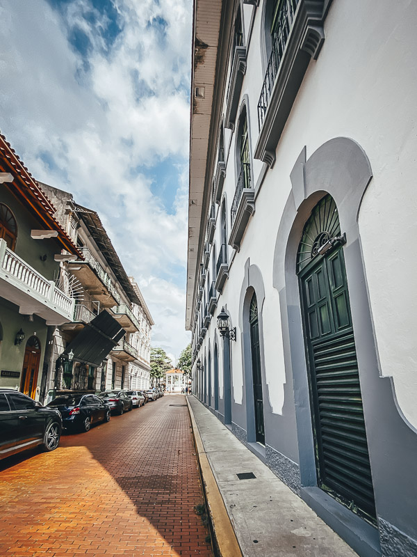 The Streets of Casco Viejo in Panama City