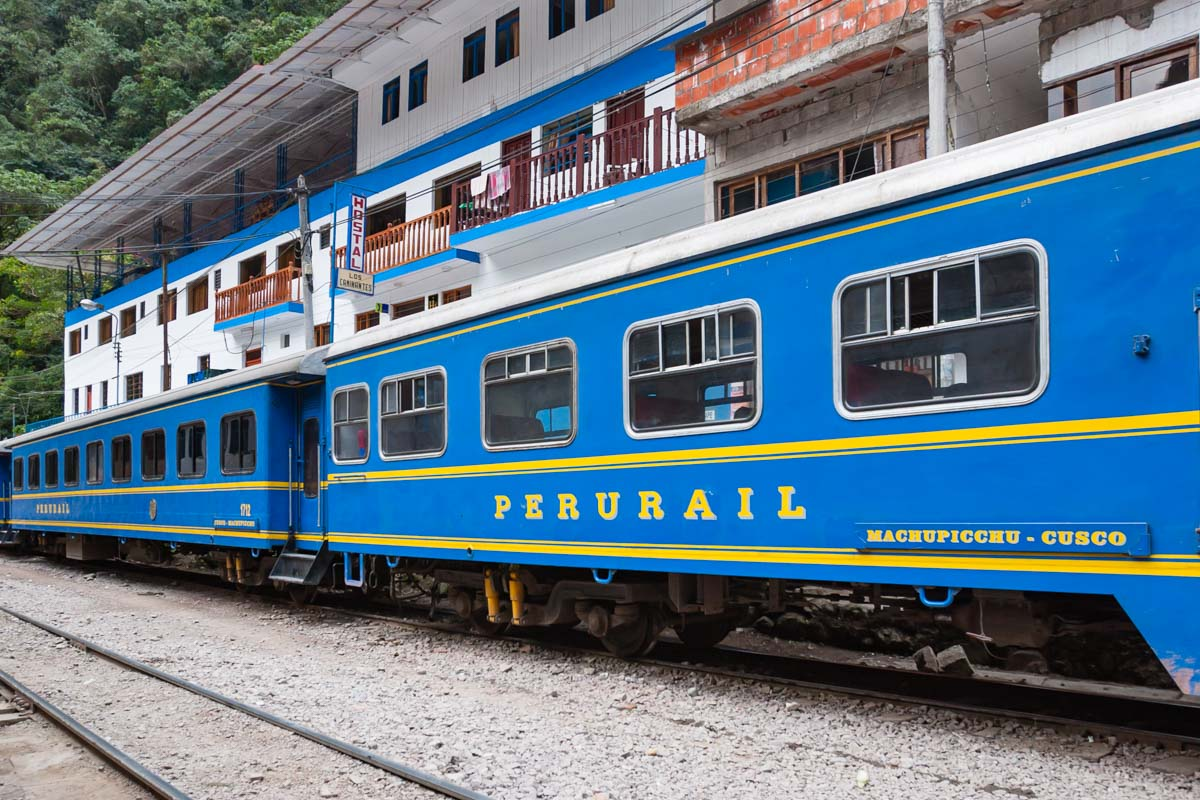 Things to do in Peru Book train to Machu Picchu
