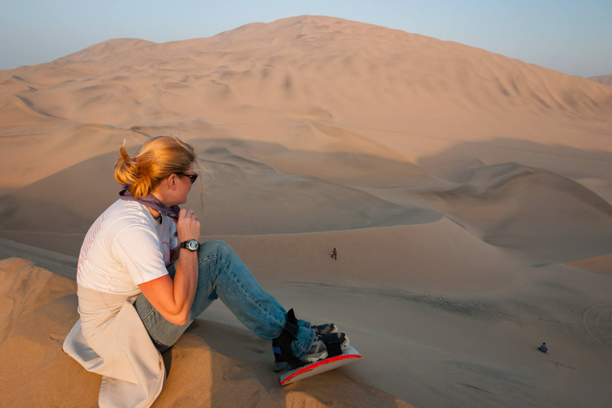 Things to do in Peru Sandboarding