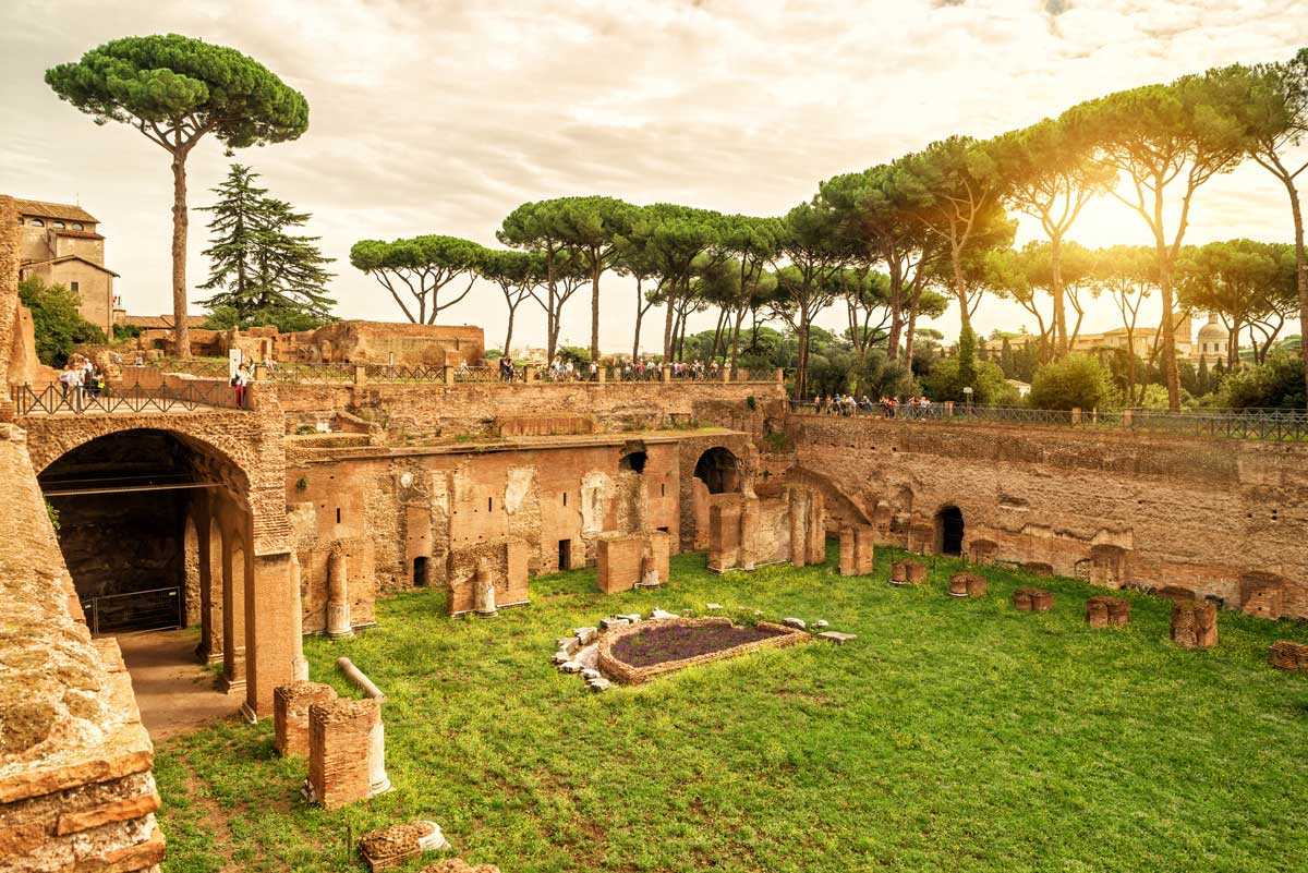 Palatine Hill one of the best things to do in Rome