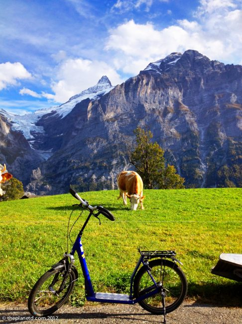 trotti bike in Switzerland