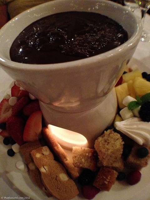 whistler in winter fondue