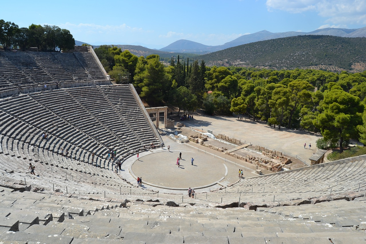 things to do in Athens Epidaurus Theatre