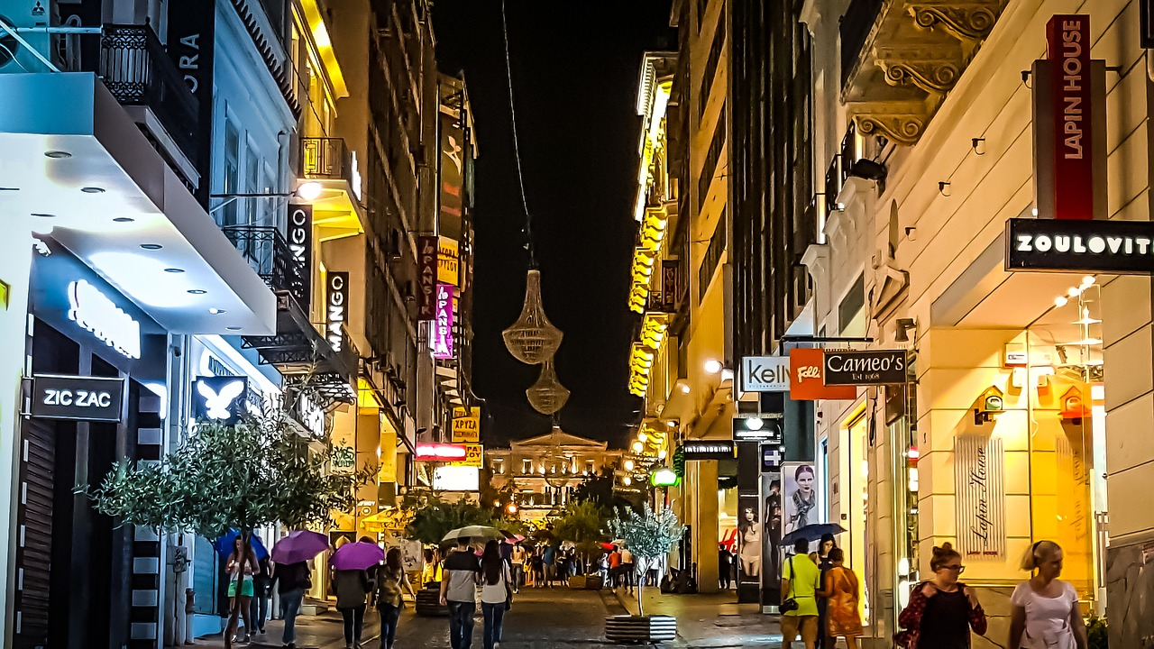top things to do in athens greece walking street