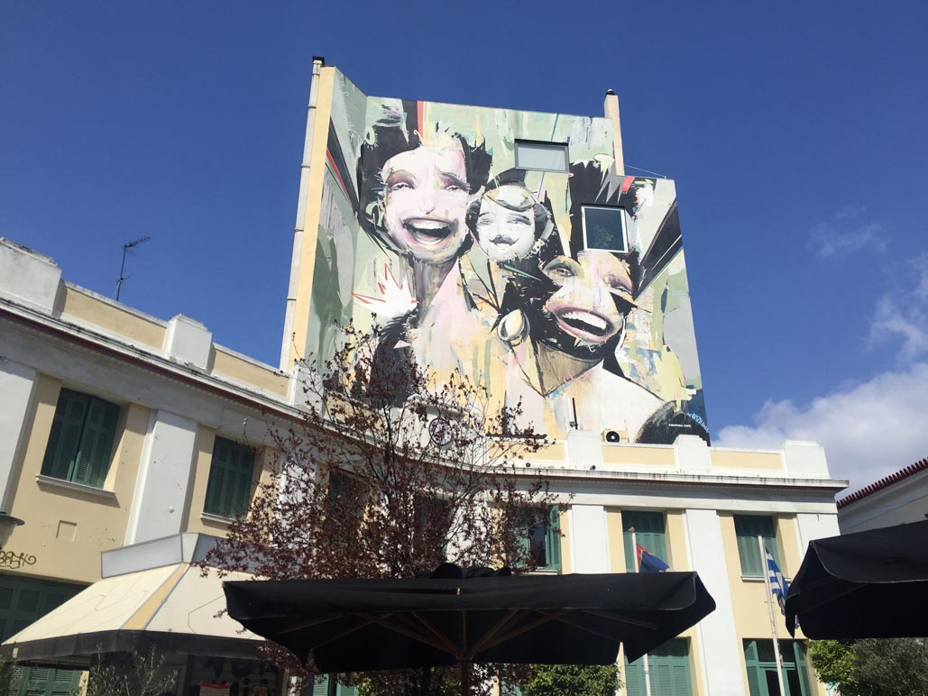 athens sightseeing | street art