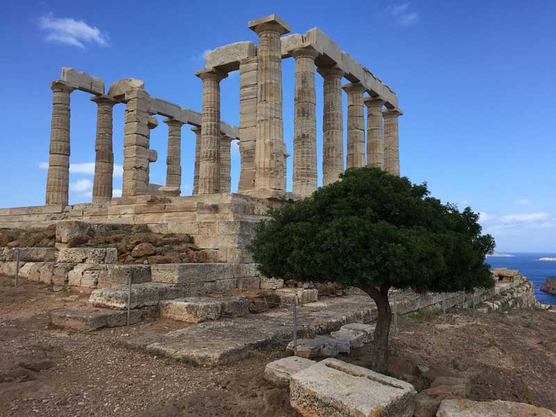 places to visit in athens | Temple of Poseidon a