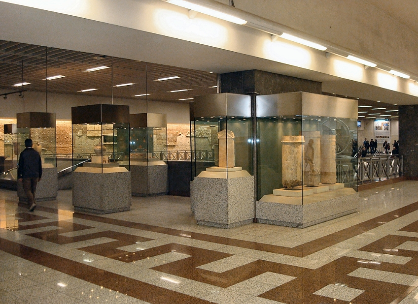 athens things to do | metro station museums