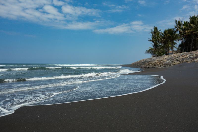 volcanic sand beach bali black sand