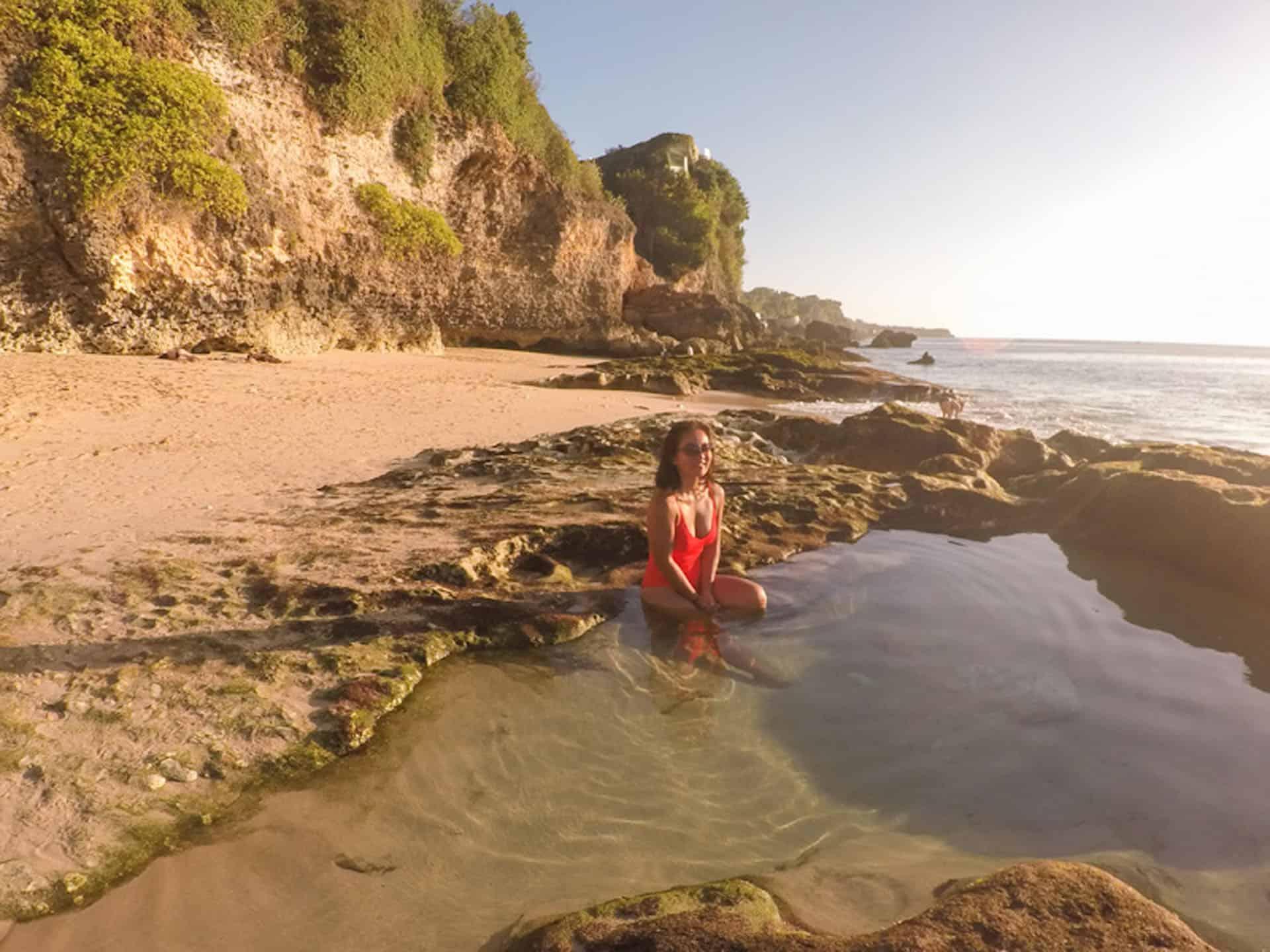 Natural Pool at Tegal Wangi
