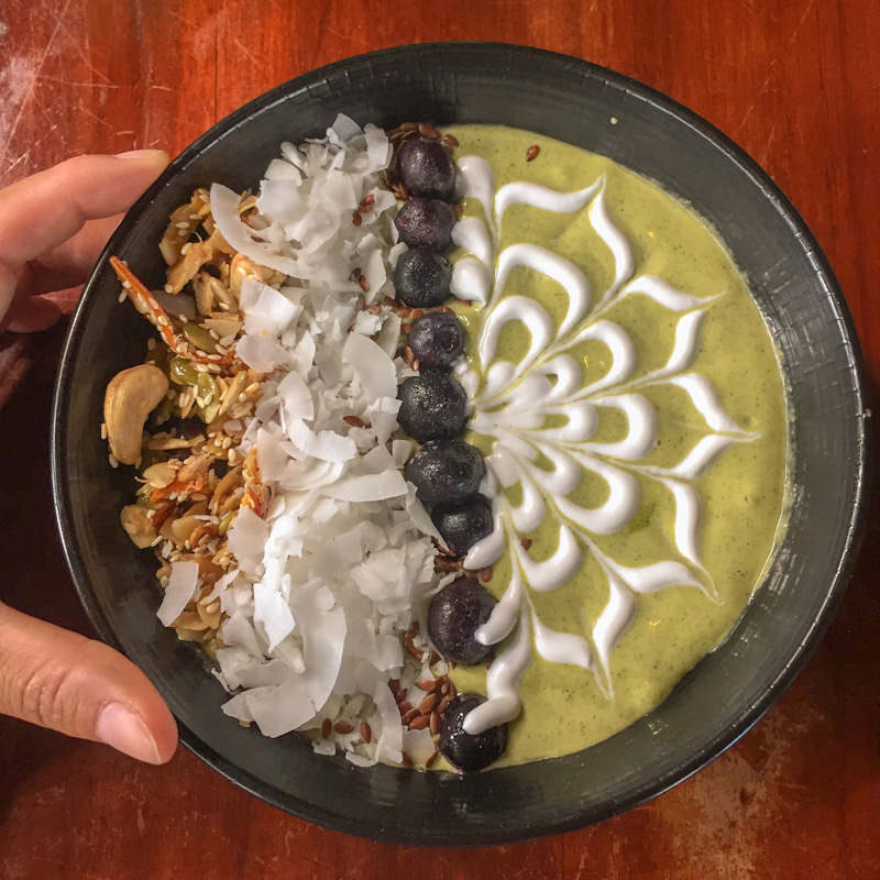 things to do in bali | smoothie bowl