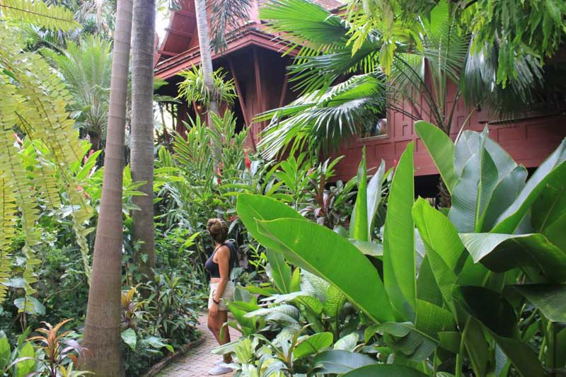 Jim Thompson House Bangkok exterior