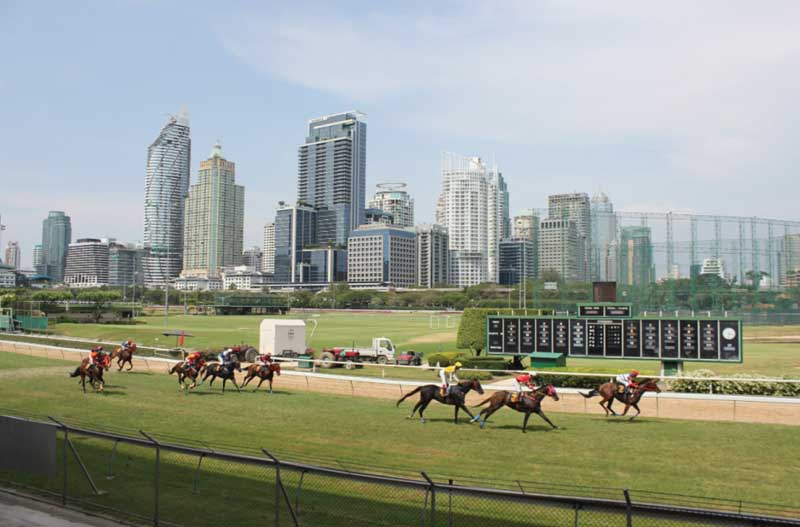 horse racing in Bangkok sports club