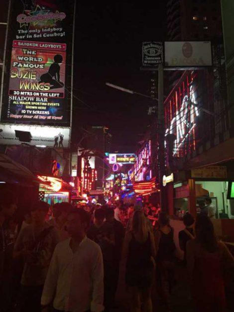 Soi Cowboy go go bars in Bangkok, Thailand