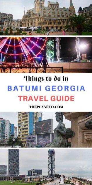 Batumi Georgia Travel Guide