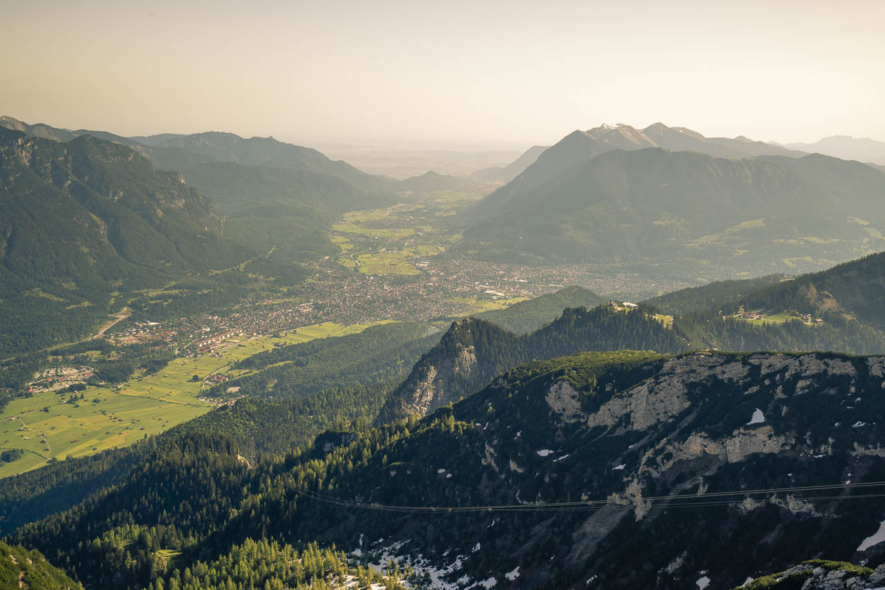 View from the Aplspix Garmisch Bavaria destinations