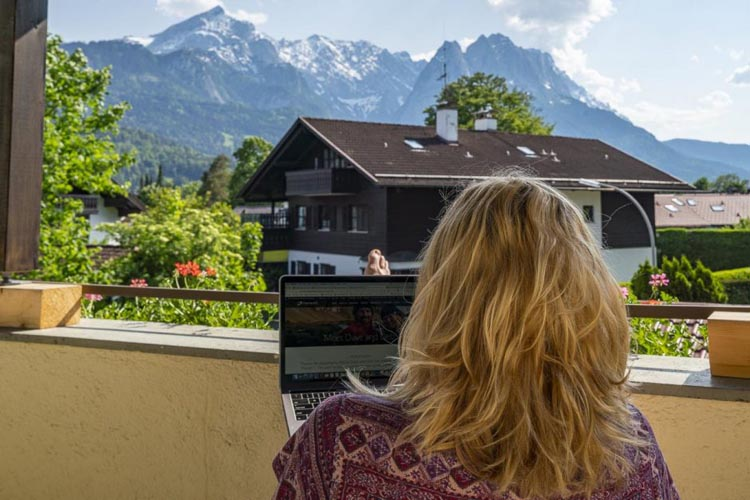 Gastehaus Maria in Garmisch-Partenkirchen | where to stay in bavaria germany