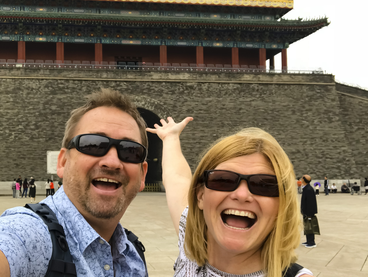 Things to do Beijing | Forbidden City Dave and Deb