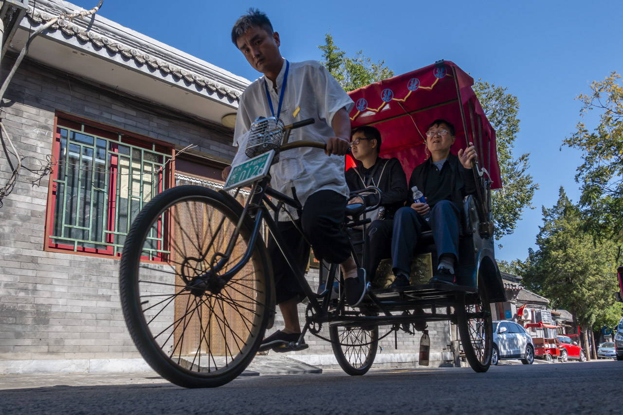 what to do in Beijing China | Rickshaw in Hutongs