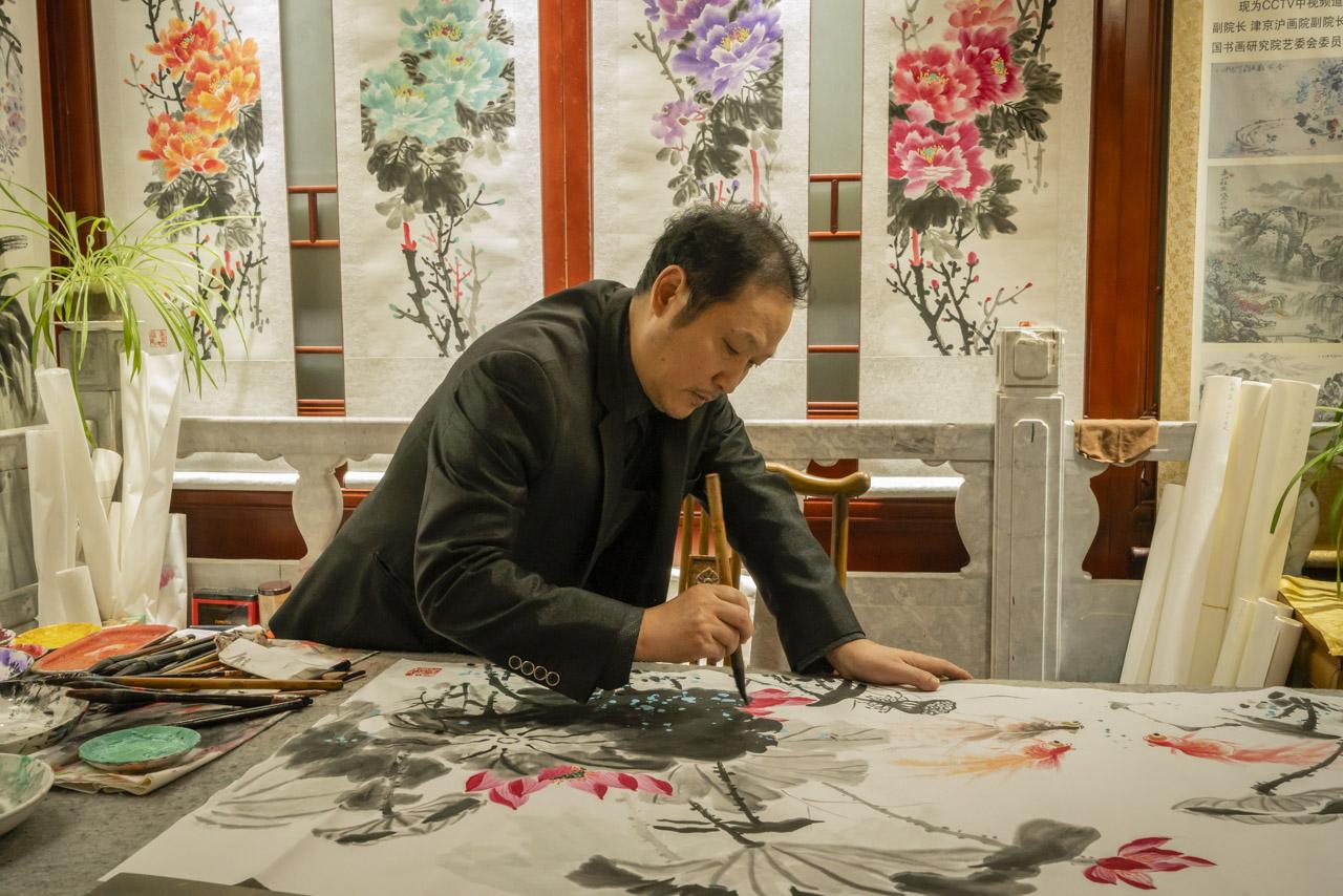 Cosas que hacer en caligrafía de beijing