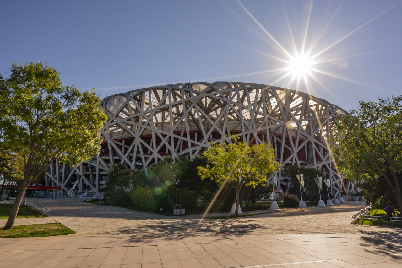 Things to do in Beijing visit Birdsnest Stadium