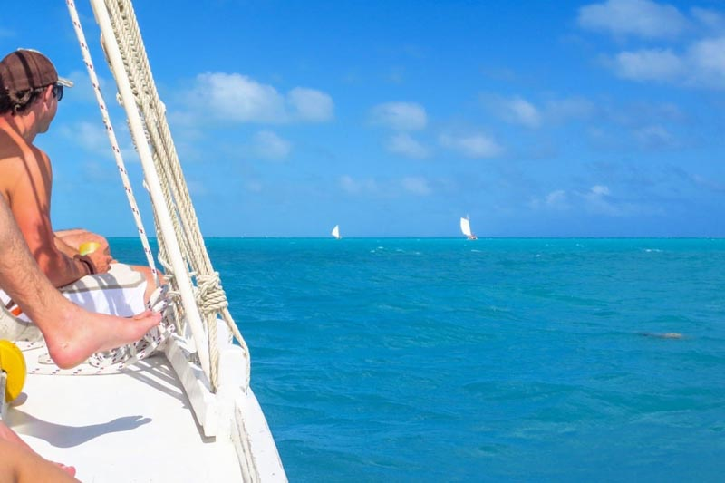 things to do in belize | sailing